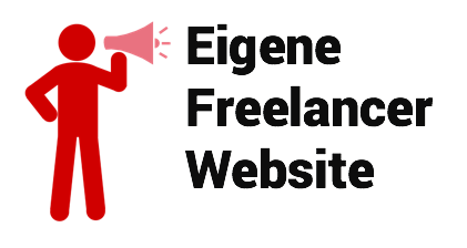 Eigene Freelancer Website