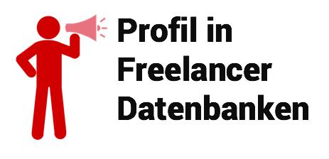 Profil Freelancer Datenbanken