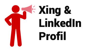 Xing und LinkedIn Profil